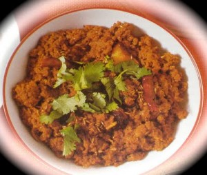 Achari Mutton Qeema at PakiRecipes.com