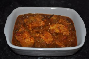 Fish Hara Masala Salan at PakiRecipes.com