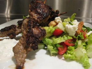Lemon Lamb Kabob recipe