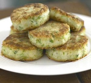 Potatoes With Green Filling at PakiRecipes.com