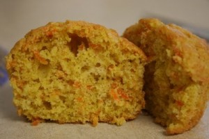 Sweet Yummy Orange Muffins at PakiRecipes.com