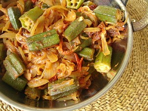 Bhindi Pyaz at PakiRecipes.com
