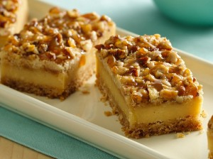 Caramello Cheesecake Bars at PakiRecipes.com