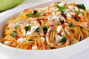 Spaghetti With Chicken And Vegetables at PakiRecipes.com