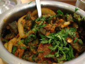 Bhindi Gosht at PakiRecipes.com