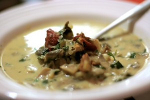 Mushroom Soup at PakiRecipes.com