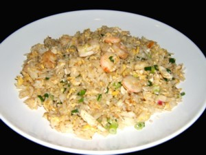 Ginger And Prawn Fried Rice at PakiRecipes.com