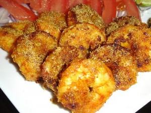 Golden Fried Prawns at PakiRecipes.com