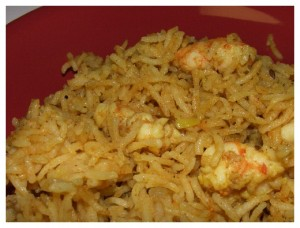 Prawn Pulao at PakiRecipes.com
