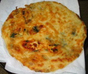 Stuffed Chicken Parathas