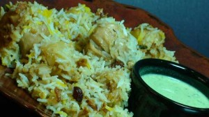 Shahi Chicken Biryani at PakiRecipes.com