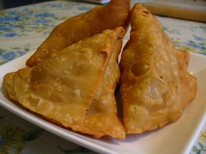 Samosas at PakiRecipes.com