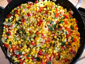Creamy Corn With Mixed Vegetables