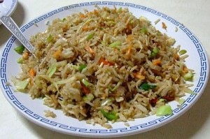 Vegetable Fried Rice at PakiRecipes.com