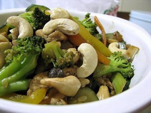 Vegetables And Cashew Stir Fry at PakiRecipes.com