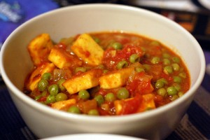 Mutter Paneer Masala at PakiRecipes.com