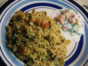 Methi Pulao at PakiRecipes.com