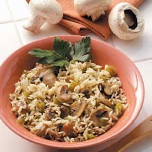 Mashroom Rice recipe
