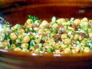 Chick Peas And Paneer Salad at PakiRecipes.com