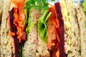 Carrot And Beetroot Sandwich at PakiRecipes.com