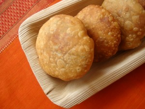 Potato Kachoris With Coconut Filling at PakiRecipes.com