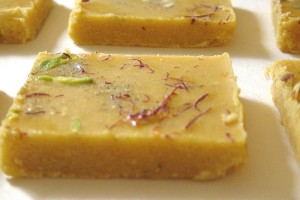 Besan Barfi at PakiRecipes.com