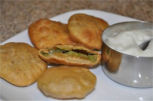 Masala Cheese Kachori