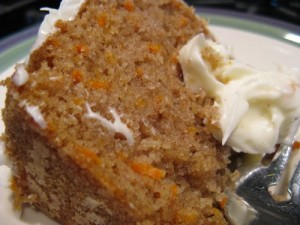 Carrot Cake With A Difference