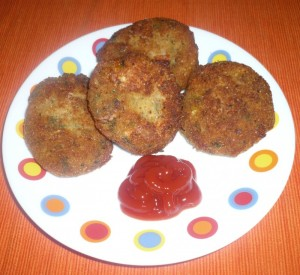 Cottage Cheese Cutlets at PakiRecipes.com