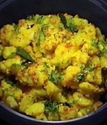 AALOO KA BHURTA  				at PakiRecipes.com