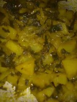 Potato And Spring Onion Bhaji at PakiRecipes.com